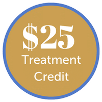 $25 treatment credit