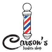 Carson's Barber Shop Logo