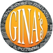 Gina's Stonefired Pizzeria Logo